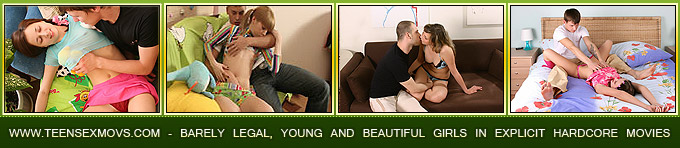 Redheaded teen's gazoo gets a worthy stretching<br />